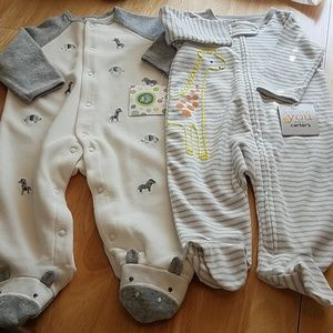 NWT.  Two new Baby Sleepers/Playsets